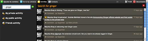 Netvibes Ginger
